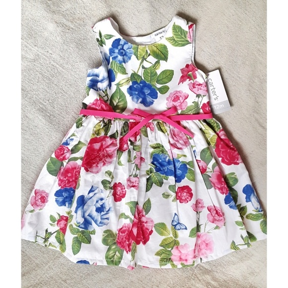205e653a0 Carter's Dresses | Sale Botanical Garden Party Dress Size 12m | Poshmark